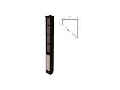 Шкаф для книг артикул 209 венге