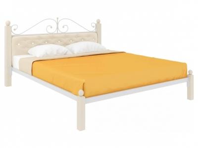 Кровать Диана Lux мягкая белая