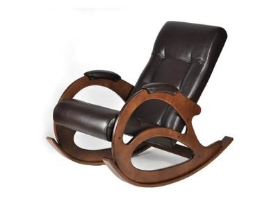 Кресло-качалка К5-3 Экокожа Коричневая