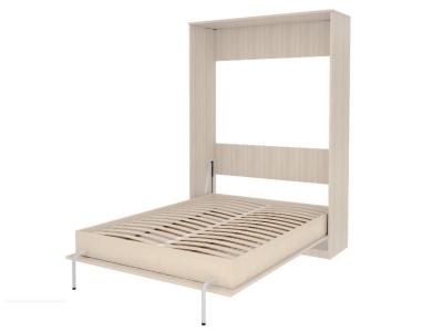 Кровать подъемная 1400 мм вертикальная артикул К01 молочный дуб