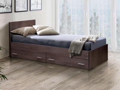 Кровать одинарная на уголках №4 с ящиками Матрица