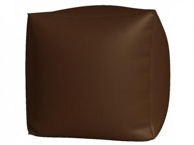 Пуфик Куб макси нейлон коричневый