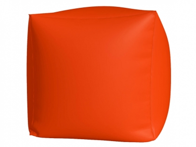 Пуфик Куб макси нейлон оранжевый люмин