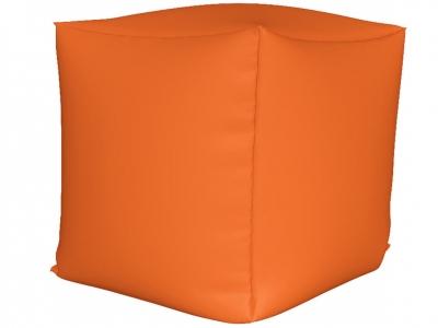 Пуфик Куб мини нейлон оранжевый
