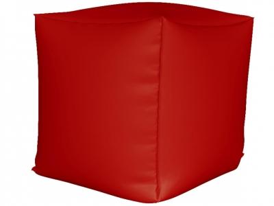 Пуфик Куб мини нейлон красный