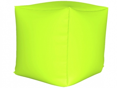 Пуфик Куб мини нейлон салатовый люмин