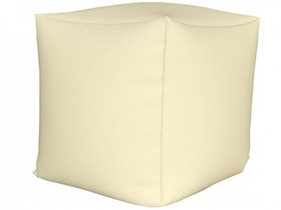 Пуфик Куб мини нейлон белый