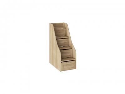 Лестница для двухъярусной кровати Ривьера ТД-241.11.12 Дуб Ривьера