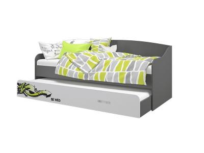 Кровать-софа выдвижная Граффити