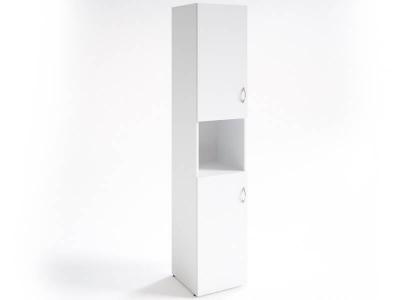 Шкаф для документов узкий НШ-12 Белый