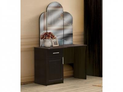 Стол туалетный с ящиком и дверью с зеркалом Венеция 2