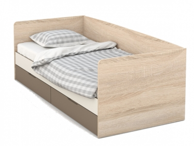 Кровать-Топчан 90 Татани Сонома/латте/крем