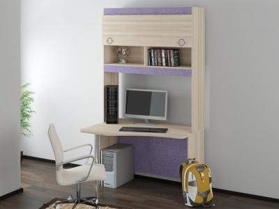 Угловой письменный стол с надстройкой Индиго ГН-145.011