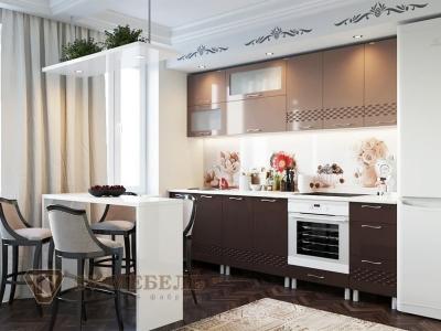 Кухня Волна Капучино-Горький шоколад